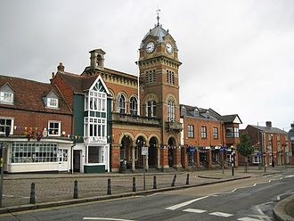 Hungerford - Image: Hungerford Town Hall