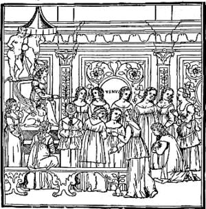 Francesco Colonna - Hypnerotomachia Poliphili illustration (1499).