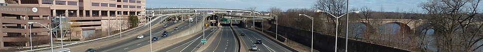 I-91 in Hartford CT