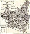 II RP Podział na okręgi i frekwencja wyborcza 1922.jpg