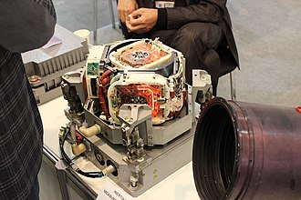 Inertial measurement unit - Modern inertial measurement unit for spacecraft.