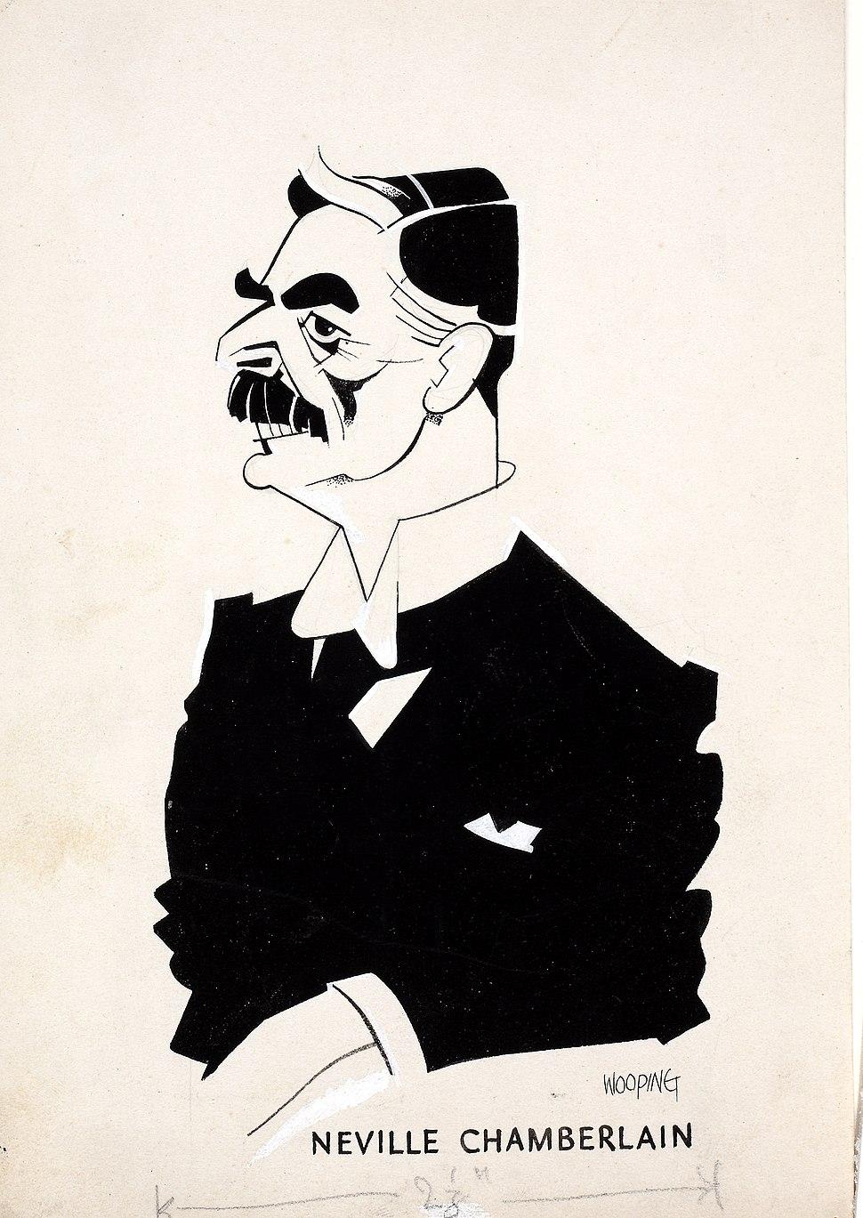 INF3-46 Neville Chamberlain Artist Wooding