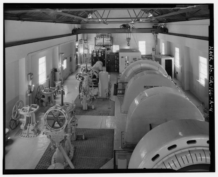 File interior of powerhouse generator room showing for Interior room design generator