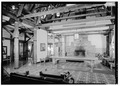 INTERIOR VIEW, LOBBY AREA - Paradise Inn, Paradise, Pierce County, WA HABS WASH,27-PARA,1-4.tif