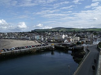 Peel, Isle of Man - Image: IOM Peel by malost