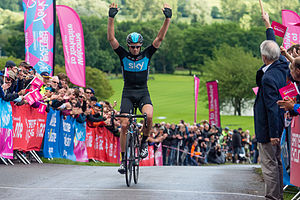 Ian Stannard - In 2012, Stannard was the winner of the British National Road Race Championships.