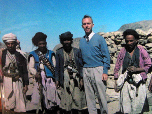Ian Verner Macdonald - Macdonald(2nd from rt.) posing alongside Yemeni mountain rebels