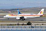 Iberia, Airbus A321-212, EC-ILO - MAD (18767327565).jpg