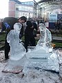 Ice sculpture, Norwich - geograph.org.uk - 294863.jpg