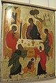 Icone, trinità dell'antico testamento, metà del xvi sec, novgorod, 02.JPG
