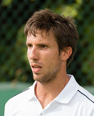 Igor Sijsling - Sijsling at the 2015 Wimbledon<br/>qualifying tournament