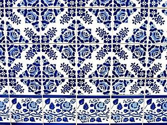 Pattern - Image: Igreja de Campanha Azulejo 4