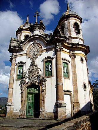 Church of Saint Francis of Assisi (Ouro Preto) - The Church of St. Francis of Assisi