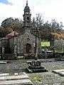Igrexa e cruceiro de San Breixo de Arcos de Furcos, Cuntis.jpg