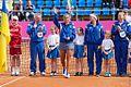 Ihor Dernovskyi, Lesia Tsurenko, Elina Svitolina and Lyudmyla Kichenok (7105319941).jpg