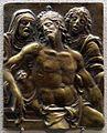 Il moderno, cristo sul sepolcro tra maria e giovanni, 1510 ca.jpg