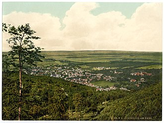 Ilsenburg - Ilsenburg about 1900