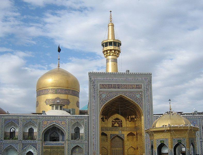 File:Imam reza shrine in Mashhad.jpg