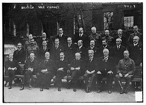 Imperial War Cabinet - Imperial War Cabinet in 1917