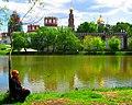 In God we trust ^ Новодевичий монастырь. Moscow, Russia. - panoramio - Oleg Yu.Novikov (18).jpg