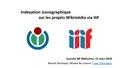 Indexation iconographique sur les projets Wikimédia via IIIF - Journée IIIF Biblissima - 15 mars 2018.pdf