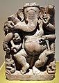 India centrale, periodo pala, ganesha danzante, xi secolo.jpg