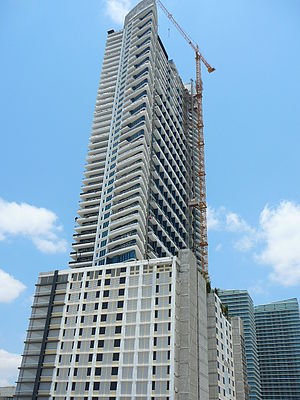 Infinity at Brickell - Image: Infinity at Brickell south