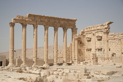 Inside the Temple of Bel,2, Palmyra