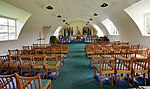 Interior of Chapel in Nissen hut at Yorkshire Air Museum (8157a).jpg