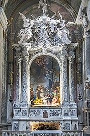 Interior of Chiesa dei Gesuiti (Venice) - right absidial chapel.jpg