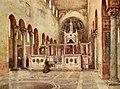 Interior of Santa Maria in Cosmedin by Alberto Pisa (1905).jpg