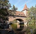 Iron Suspension bridge .Nuremberg.jpg