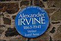 Irvine plaque, Antrim - geograph.org.uk - 588787.jpg