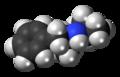 Isopropylamphetamine molecule spacefill.png