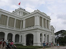 The Front Facade Of The Istana Which Once Won Accolades From Its Occupants Writers And Visitors