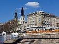 Istenszülő elhunyta Nagyboldogasszony magyar ortodox székesegyház és Március 15. tér sarok, 2013 Budapest (458) (13227067083).jpg