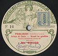 Italian Fonotipia label, Giuseppi Anselmi, Vesti la giubba.jpg