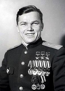 Ivan Kozhedub Aviator, thrice Hero of the Soviet Union