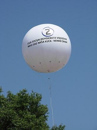 League of Social Democrats of Vojvodina - Image: Izbori 2012 balon LSV (1)