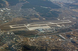 Izmir Adnan Menderes Airport - Image: Izmir Airport Karakas 1