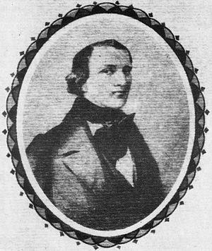 Johann Kaspar Mertz - Portrait of J. K. Mertz