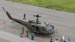 JGSDF UH-1J(41894) right front top view at Amagasaki Port July 9, 2017 03.jpg