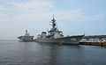 JS Inazuma and JS Ise berthed at Ōita, -22 Jul. 2012 b.jpg