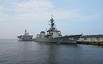 JS Inazuma and JS Ise berthed at Ōita, -22 Jul. 2012 b.jpg