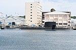 JS Seiryū(SS-509) right side view at U.S. Fleet Activities Yokosuka April 30, 2018.jpg