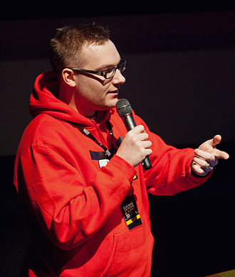 Angry Birds (video game) - Senior game designer of Angry Birds Jaakko Iisalo at Game Design Expo 2011