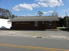 Jacksonville City Hall, Police, Georgia.JPG