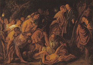 The Betrayal and Arrest of Christ in Gethsemane