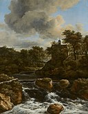 Jacob van Ruisdael - Chapel by a Waterfall - 153 - Rijksmuseum.jpg