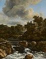 Jacob van Ruisdael - Chapel by a Waterfall - 153 - Rijksmuseum.jpg